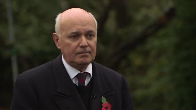 London EXT Iain Duncan Smith MP interview SOT re Brexit negoitations