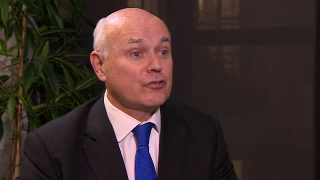 Iain Duncan Smith saying the EU need to 'change the process and back off' during Brexit negotiations