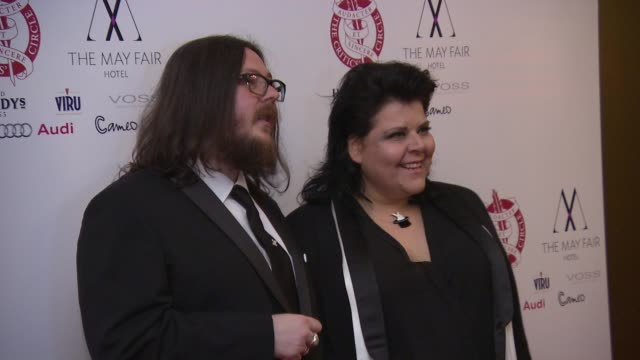 stockvideo's en b-roll-footage met broll iain forsyth and jane pollard at london critics circle awards - criticus