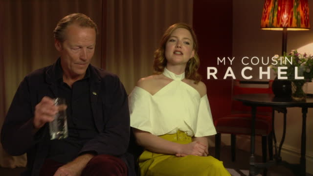 INTERVIEW Iain Glen Holliday Grainger on the story Daphne du Maurier style of writing at 'My Cousin Rachel' Interviews on June 7 2017 in London...
