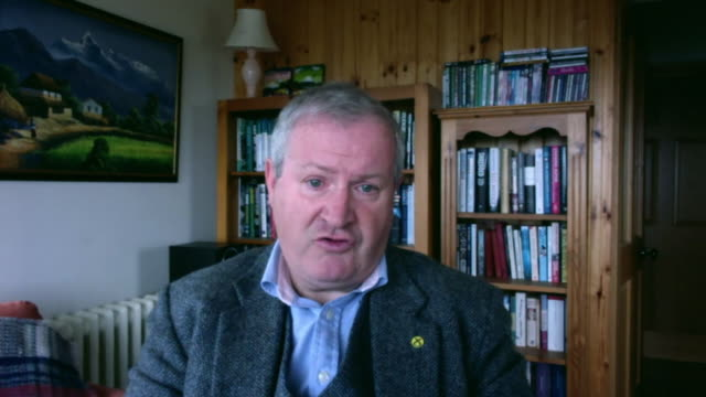 ian blackford saying dominic cummings should have resigned for driving to durham with coronavirus symptoms and that boris johnson should remove him... - unemployment stock videos & royalty-free footage