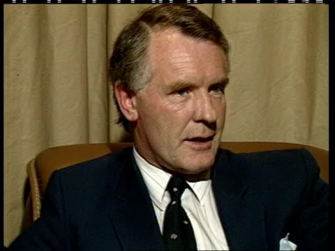 Ian Botham admits smoking pot ITN Intvw Dennesse