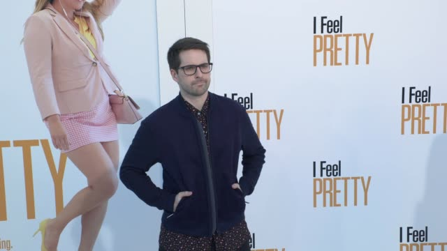 ian hecox at the i feel pretty world premiere at westwood village theatre on april 17 2018 in westwood california - westwood stock-videos und b-roll-filmmaterial