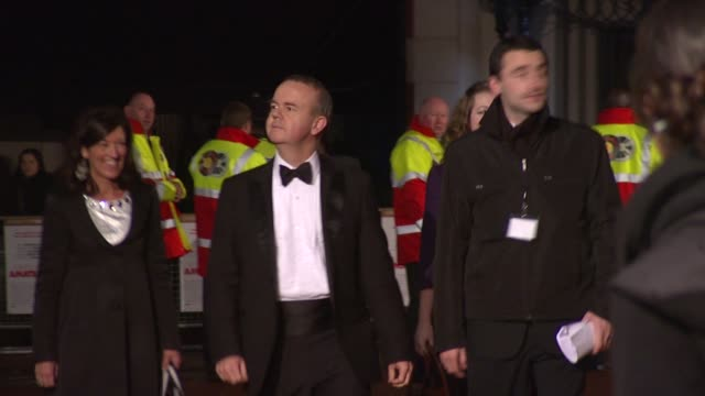 ian hislop arriving at the royal premiere of a bunch of amateurs at london . - ian hislop stock videos & royalty-free footage