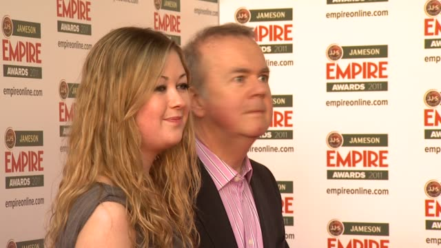 ian hislop at the jameson empire awards at london england. - ian hislop stock videos & royalty-free footage