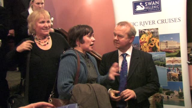 ian hislop at the oldies at the celebrity video sightings in london at london england. - ian hislop stock videos & royalty-free footage