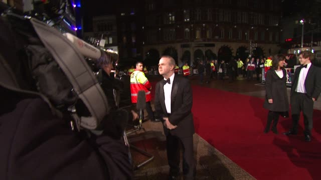 ian hislop at the royal premiere of a bunch of amateurs at london . - ian hislop stock videos & royalty-free footage