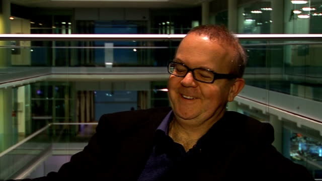 ian hislop interview ian hislop interview continued sot on characters in parliament too many people who have never done anything than be a politician... - ian hislop stock videos and b-roll footage