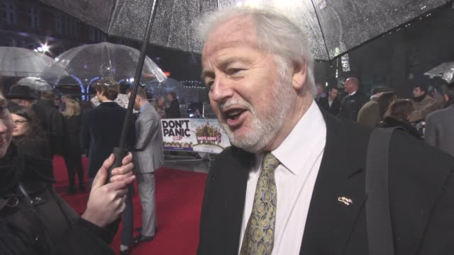 INTERVIEW Ian Lavender on hidding from the press the cast Michael Gambon Blake Harrison playing his old character on 'Dad's Army' UK film premiere at...