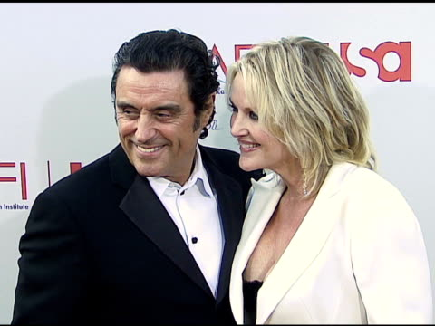 Ian McShane and wife Gwen Humble at the 34th AFI Life Achievement Award A Tribute To Sean Connery at the Kodak Theatre in Hollywood California on...