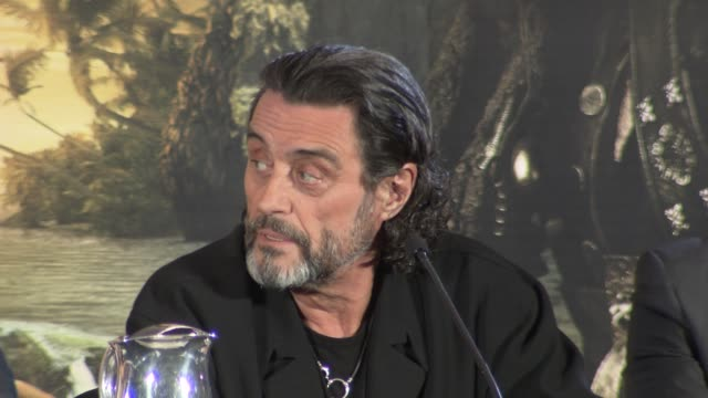 Ian McShane on being an actor instead of a criminal his character script comedy and more at the Pirates of the Caribbean On Stranger Tides Press...