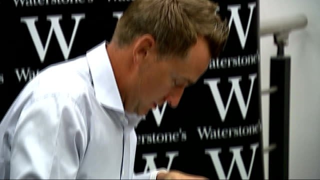 ian poulter interview gvs poulter signing books at book signing poulter interview sot i take all the tablets but its under control and i can get... - book signing stock videos & royalty-free footage