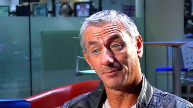 ian rush interview rush interview sot liverpool would have looked forward to playing manchester united with the likes of fernando torres and steven... - missed chance stock videos & royalty-free footage