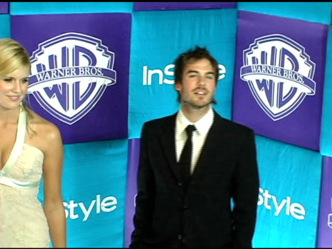 Ian Somerhalder and Maggie Grace at the In Style Magazine and Warner Brothers Studios 6th Annual Golden Globe Party at the Beverly Hilton in Beverly...
