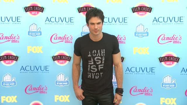 Ian Somerhalder at 2013 Teen Choice Awards Arrivals on 8/11/2013 in Universal City CA