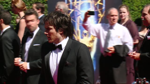 Ian Somerhalder at 2014 Creative Arts Emmy Awards in Los Angeles CA