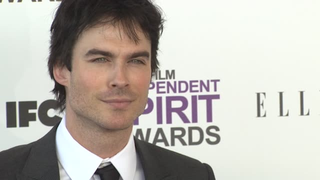 Ian Somerhalder at the 2012 Film Independent Spirit Awards Arrivals on 2/25/12 in Santa Monica CA