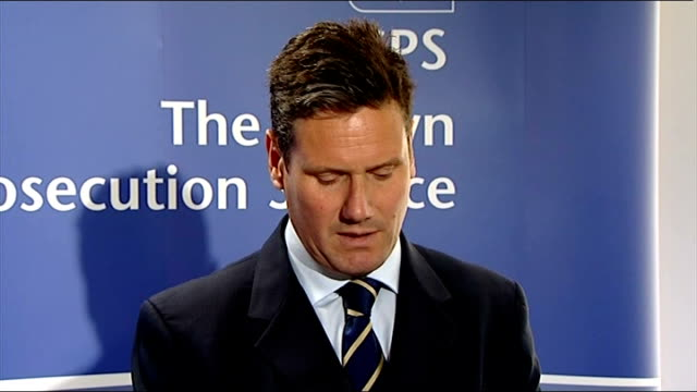 police officer will not face prosecution london int keir starmer qc press conference statement sot cps has decided that there is no realistic... - widow stock videos and b-roll footage