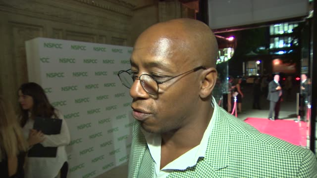 interview ian wright on why he loves michael caine at a night out with… sir michael caine - ian wright stock videos and b-roll footage