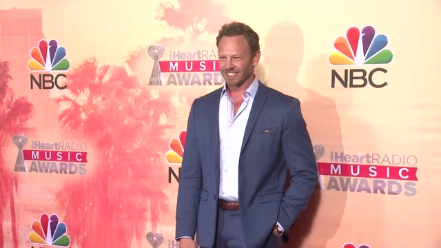 Ian Ziering at the 2015 iHeartRadio Music Awards Press Room at The Shrine Auditorium on March 29 2015 in Los Angeles California