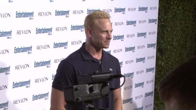 ian ziering at the entertainment weekly 6th annual preemmy party at los angeles ca - pre emmy party stock videos & royalty-free footage