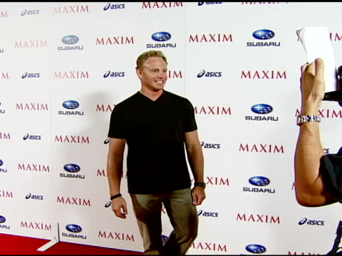 Ian Ziering at the Maxim Magazine's ICU Event at Area in Los Angeles California on August 2 2007