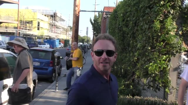 INTERVIEW Ian Ziering comments on the end of Sharknado outside Boo2Bullying's 4th Annual Take a Bite Out of Bullying at the Los Angeles LGBT Center...