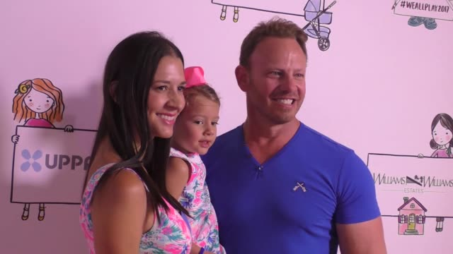 Ian Ziering Erin Kristine Ludwig Loren Ziering Penna Mae Ziering at the Zimmer Children's Museum Event on April 30 2017 in Los Angeles California