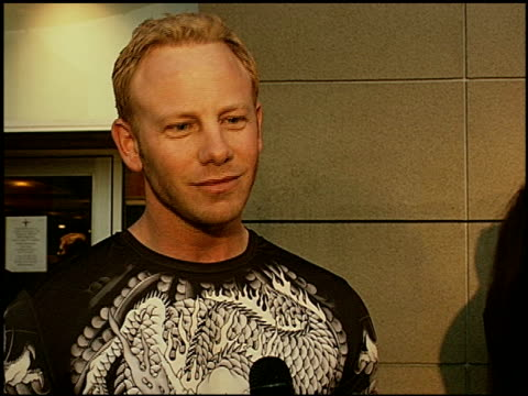 ian ziering on why he came to the event, and also talking about branching out into directing and how important he feels it is to take his destiny... - directing stock videos & royalty-free footage