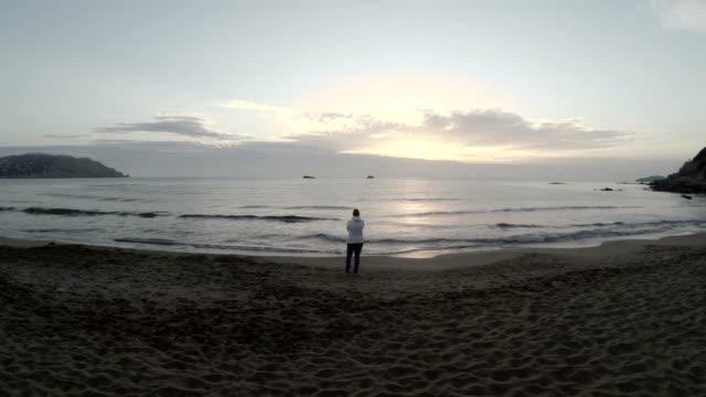 Ibiza Beach At Sunrise (Fly Over)