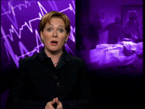 i/c dr sheila adam interview sot national guidelines do not make any distinction on the basis of age the decision on whether a patient should be... - pulse oxymeter stock videos and b-roll footage