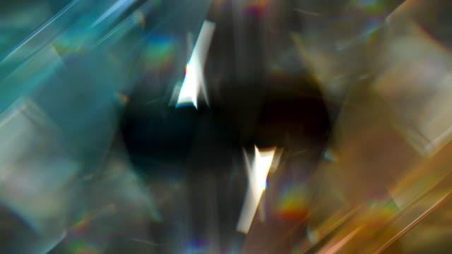 ice and fire blue and orange diamond - フラクタル点の映像素材/bロール
