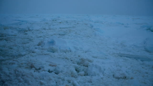 cu ice and iceberg in bad weather, antarctica - south pole stock videos & royalty-free footage