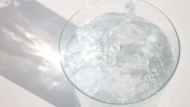 ice and water - drinking glass stock videos & royalty-free footage