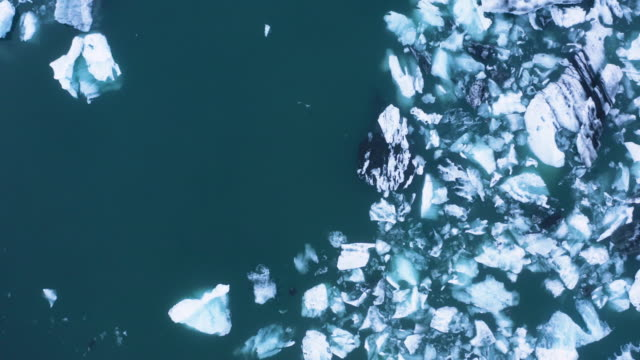 ice blocks in the ocean - glacier stock videos & royalty-free footage