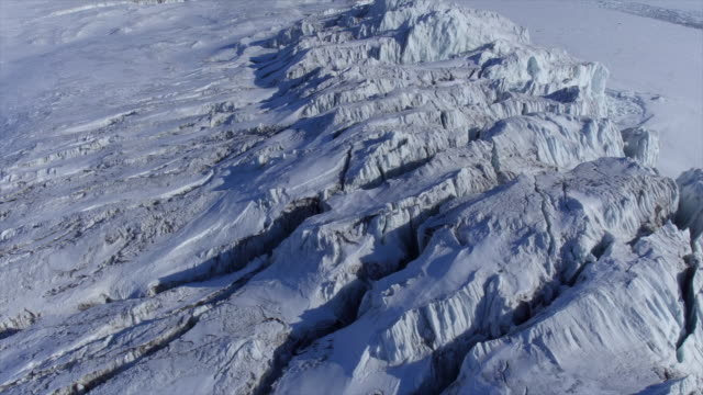 ice cap in antarctica - cracked stock videos & royalty-free footage