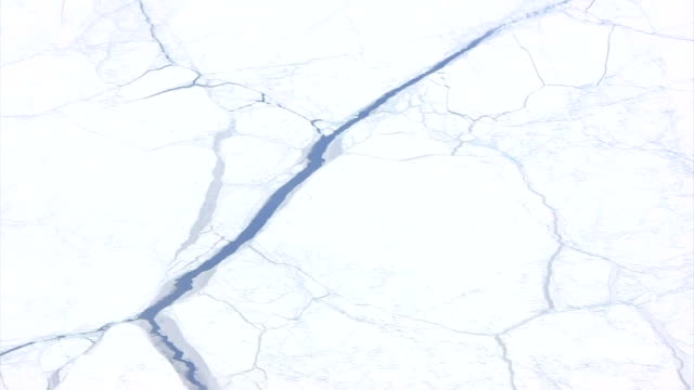 Ice caps from the airplane HD