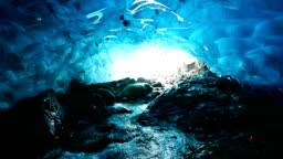 Ice caves, Jokulsarlon, Iceland