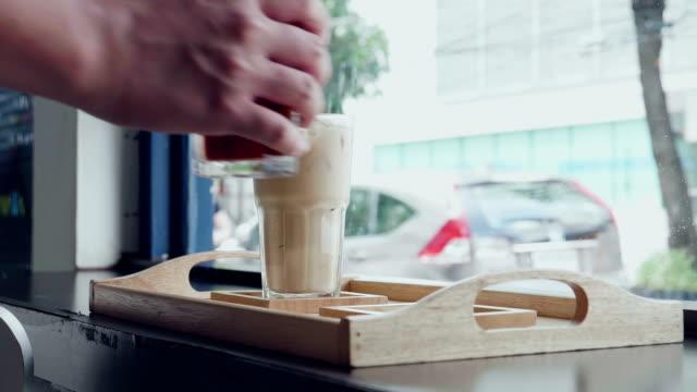 Ice Coffee And Chocolate