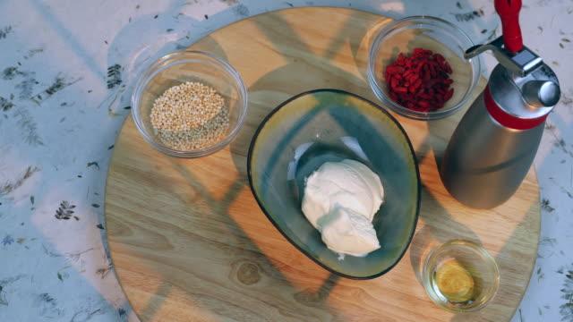ice cream dessert - utensil stock videos & royalty-free footage