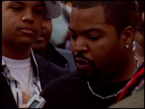 Ice Cube at the 'Are We There Yet' Premiere on January 9 2005