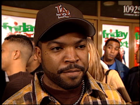 ice cube at the 'friday after next' premiere at the mann national theatre in westwood california on november 13 2002 - friday stock videos & royalty-free footage