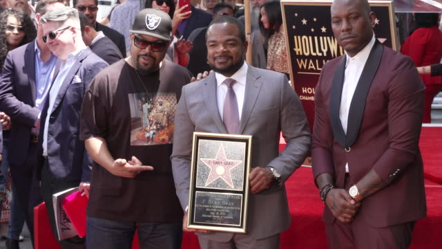 ice cube f gary gray tyrese gibson on may 28 2019 in hollywood california - tyrese stock videos and b-roll footage