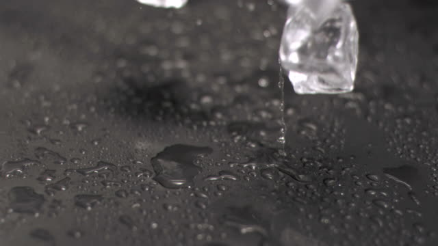 ice cubes hitting ground in super slow motion - flooring stock videos & royalty-free footage
