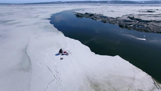 Eis Angeln Amateur Wintersportvergnügen