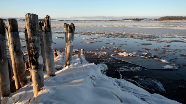 Ice Floe Time Lapse