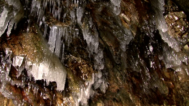 ice grotto - grotto cave stock videos and b-roll footage