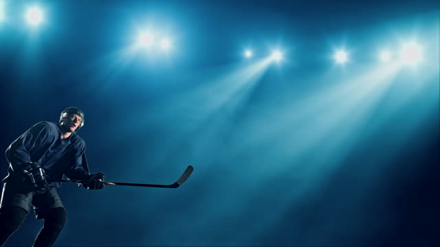 ice hockey player - hitting stock videos & royalty-free footage