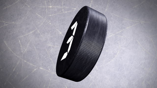 Ice Hockey Puck Countdown