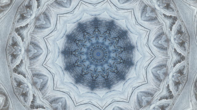 ZO / Ice Mandala, Kaleidoscope effect of ice crystals
